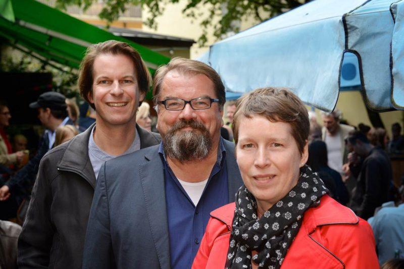 Das Kuratorium der 50. internationalen Hofer Filmtage: Thorsten Schaumann, Alfred Holighaus und Linda Söffker (v.l.)