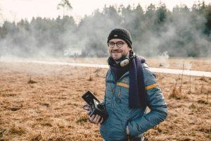 """DER HUND BEGRABEN (AT), Deutschland 2016, Regie: Sebastian Stern bei Dreharbeiten zu """"Der Hund begraben"""" © /GLORY FILM/Hendrik Heiden"""